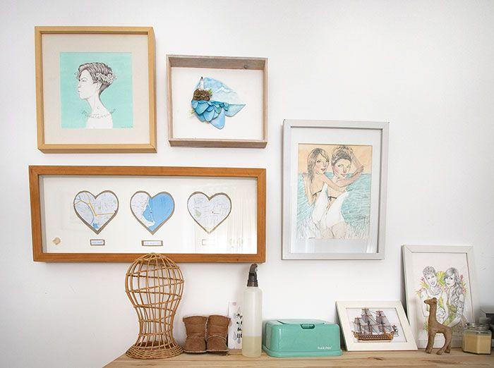 ilustraciones dormitorio oh mami blue