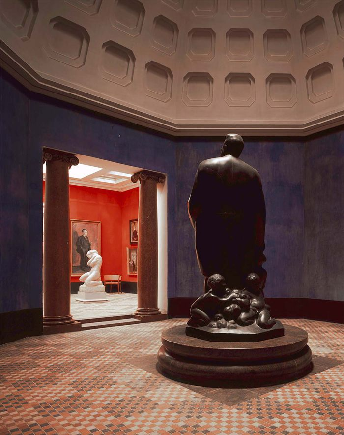 museo dinamarca estatua fundador