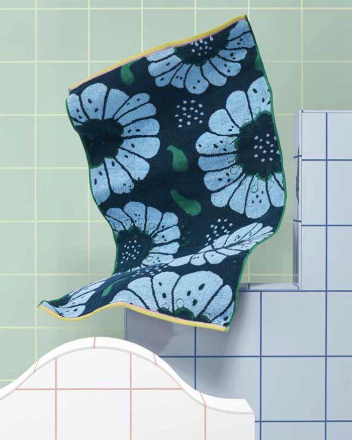Toallas Bano Ikea.Novedades De Ikea Para Febrero Memphis Flower Power Y Lo