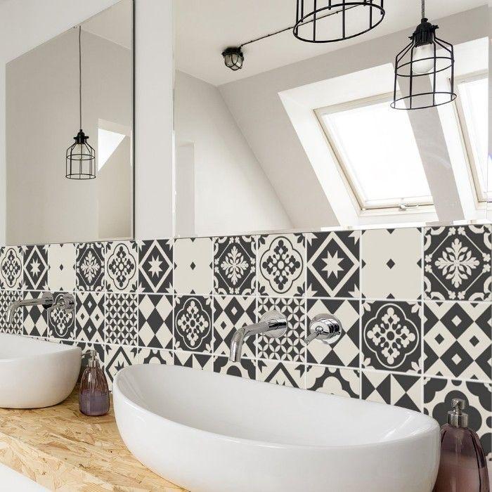 Reforma baño azulejos adhesivos