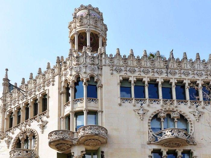 lleo morera arquitectura modernista barcelona