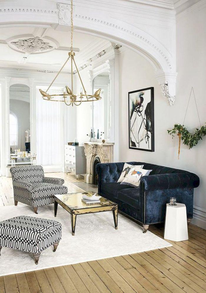 sofa chester azulon terciopelo elegante