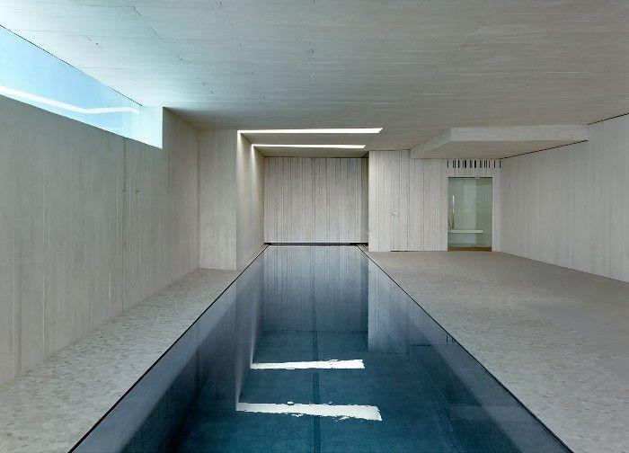 Piscinas interiores de diseño para un invierno cálido