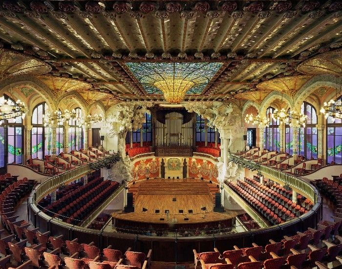 palacio de la musica arquitectura modernista