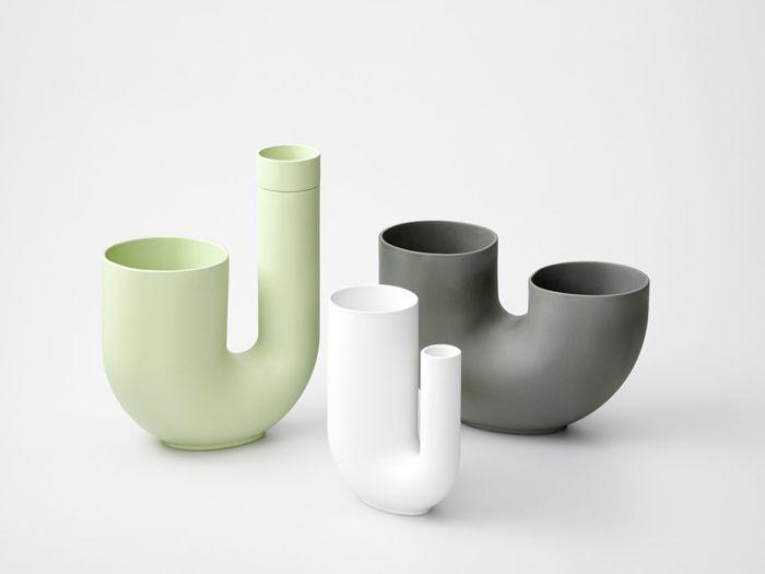 florero diseño tubos