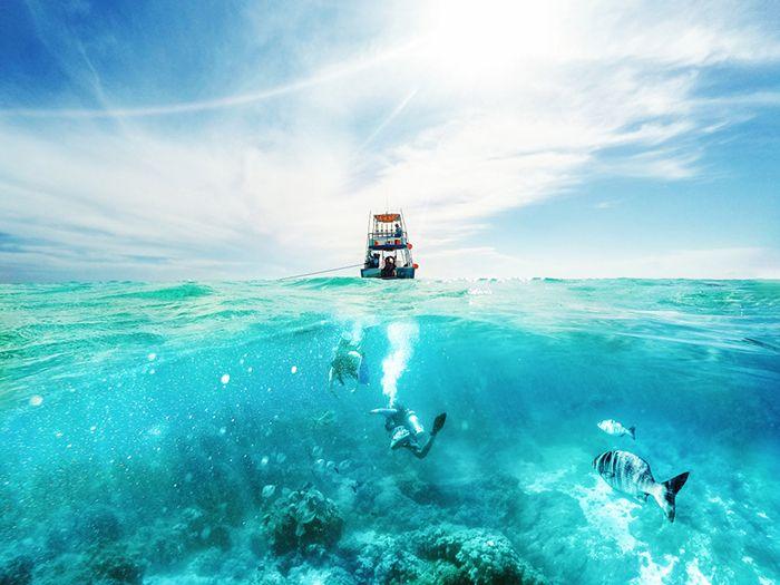 actividades acuaticas mar caribe mexico