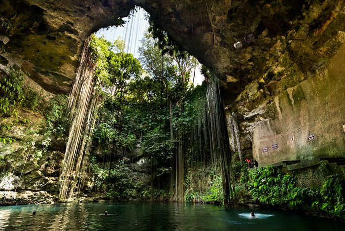 paraiso natural cenotes mexico