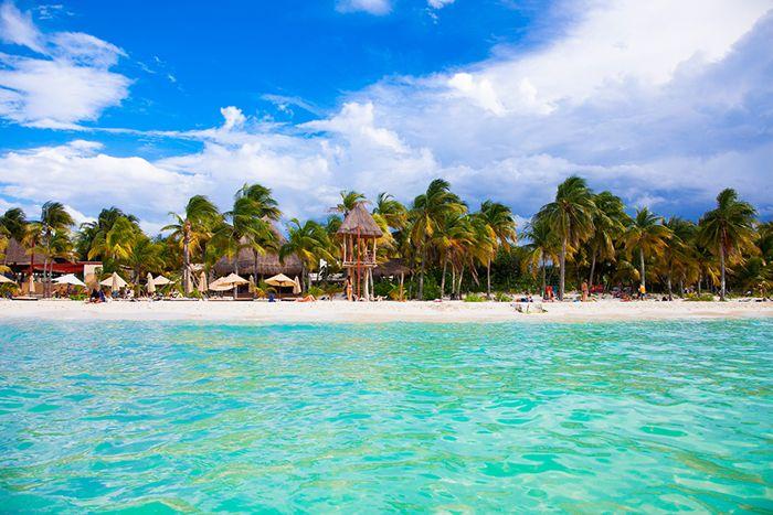 isla mujeres playa mexico