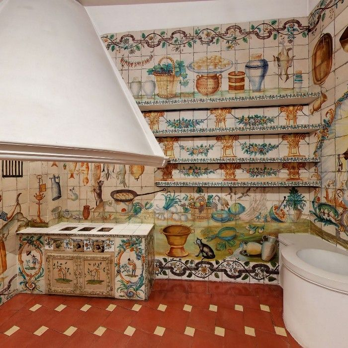detalle cocina valenciana museo nacional de artes decorativas
