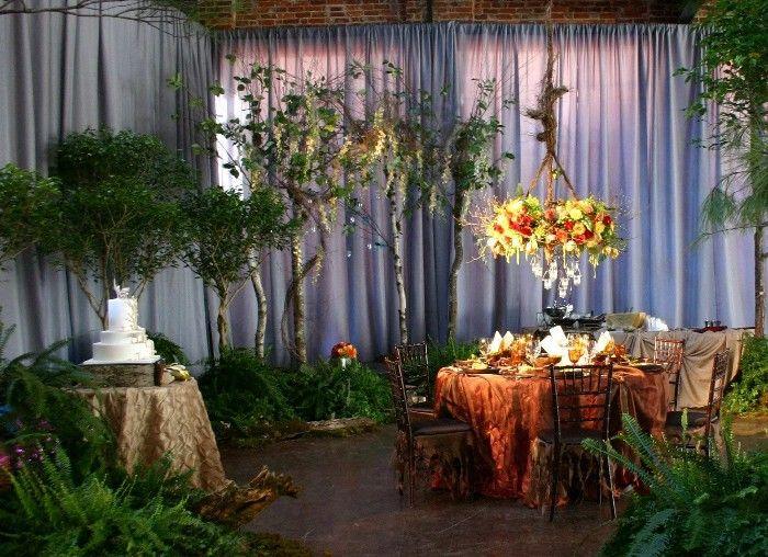 boda decoracion inspiración bosque encantado