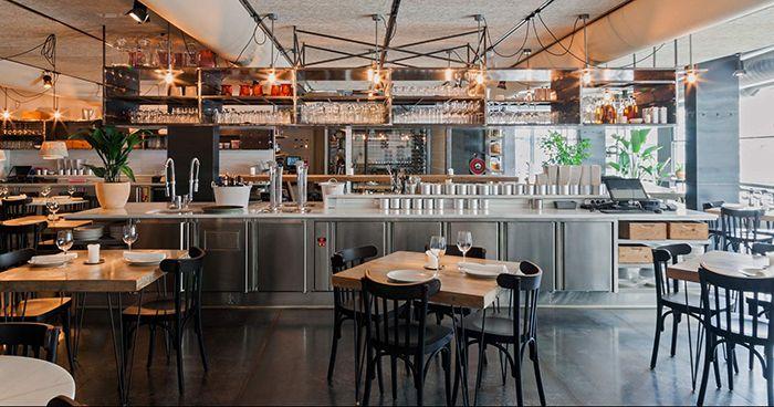El restaurante Fismuler en Barcelona