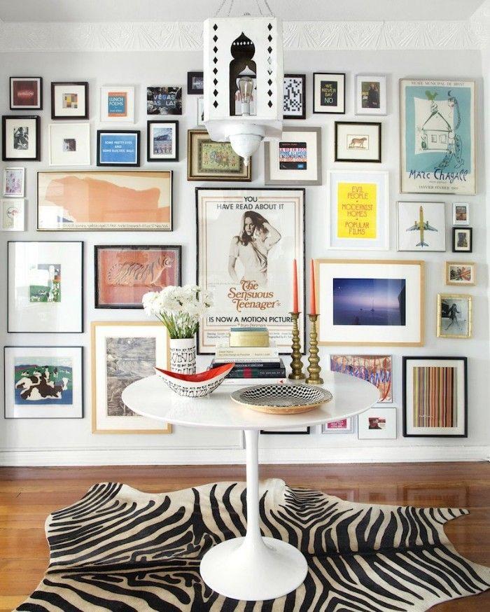 collage pared impresión imágenes