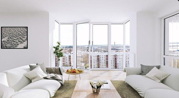 ventanas pvc blancas aislamiento