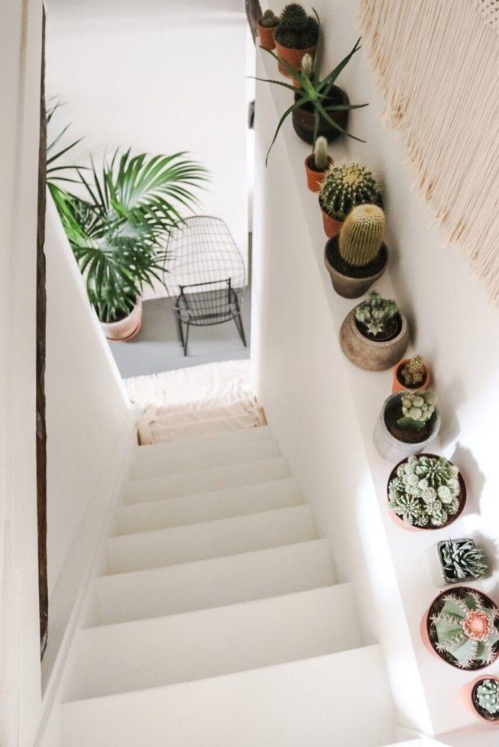 escalera plantas interior