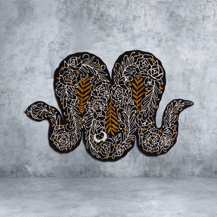 alfombra serpiente ikea art event 2019