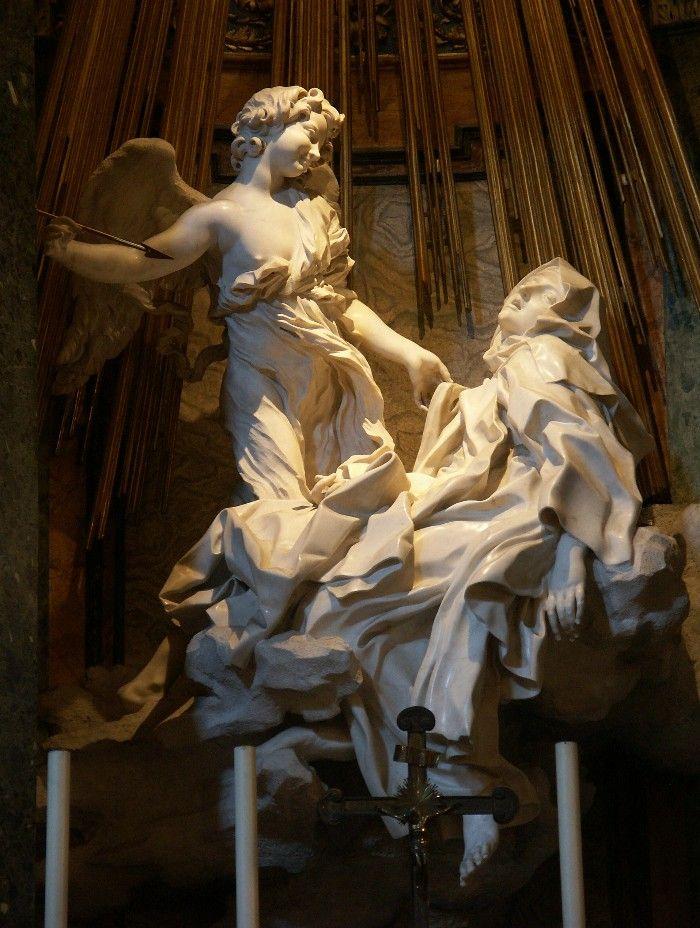 extasis escultura barroca