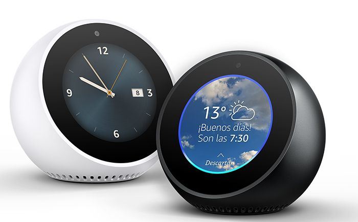 relojes inteligentes amazon echo blanco y negro