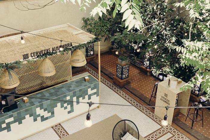 Se presenta en Madrid el espacio Jardín Cervezas Alhambra