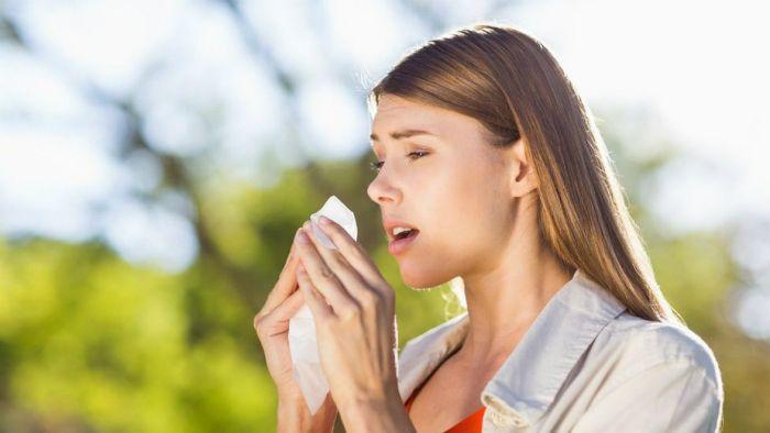 chica alergia