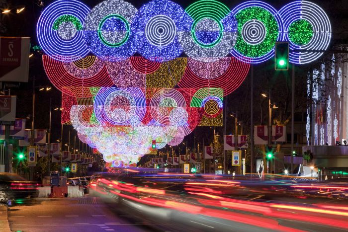 luces navidad calle