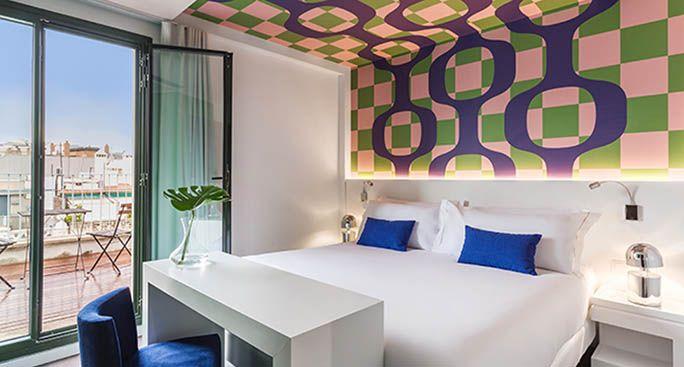 hoteles diseñados tomas alia roomate