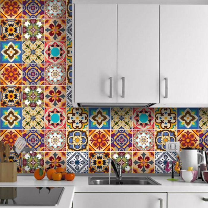 azulejos cocina llamativo original