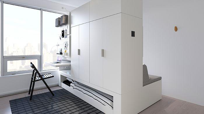 muebles roboticos casas pequeñas