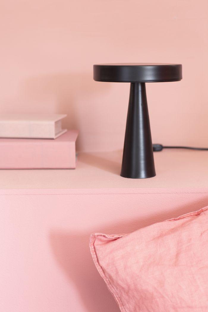 Iluminacion lampara diseño negro minimalista mimetrica