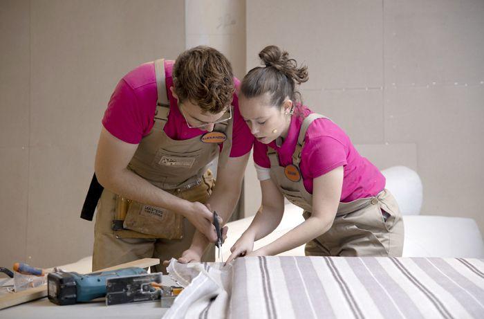 Alex y Naomi trabajandoMasters de la Reforma,