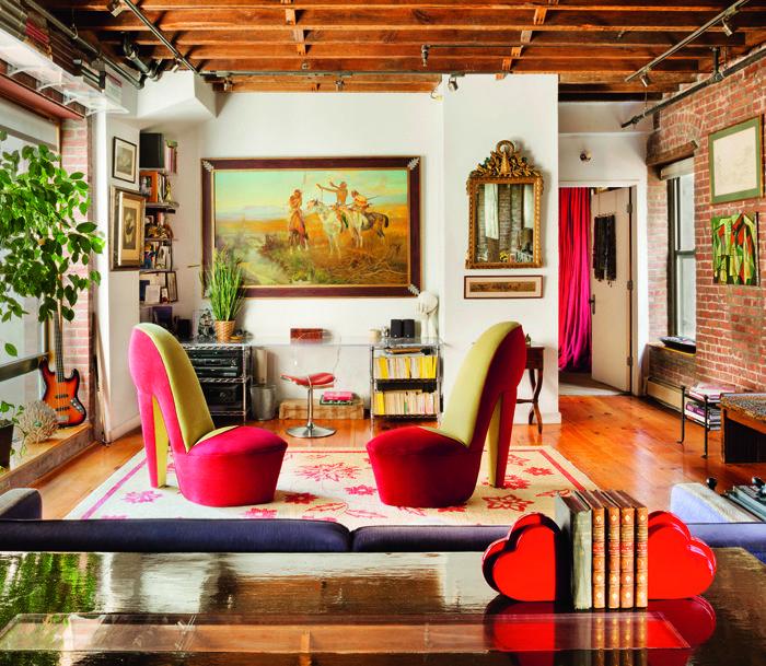 Roger de Cabrol diseño sala de estar