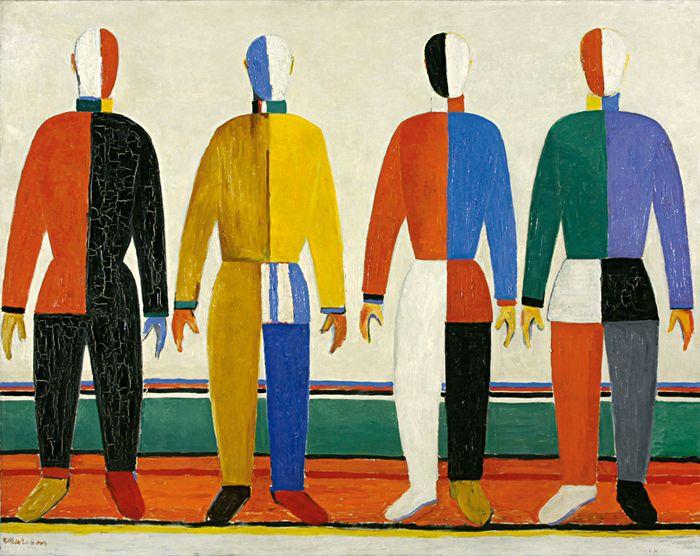 arte simetrico figurativo colores