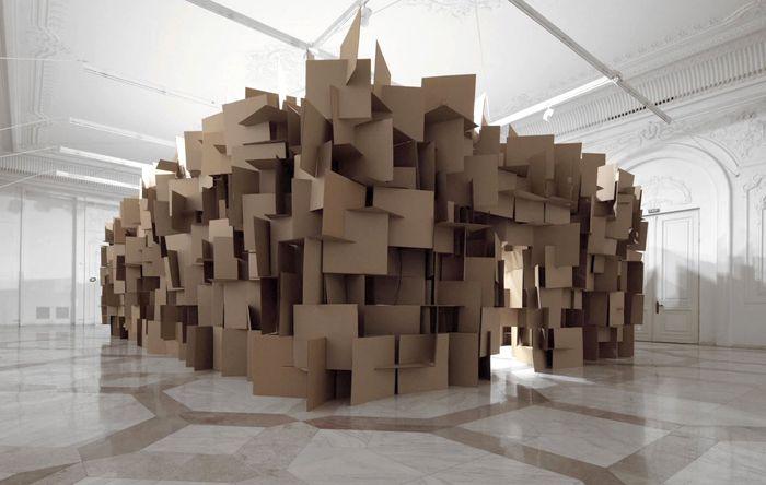 arte minimalismo materiales industriales