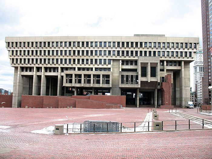 Arquitectura brutalista boston
