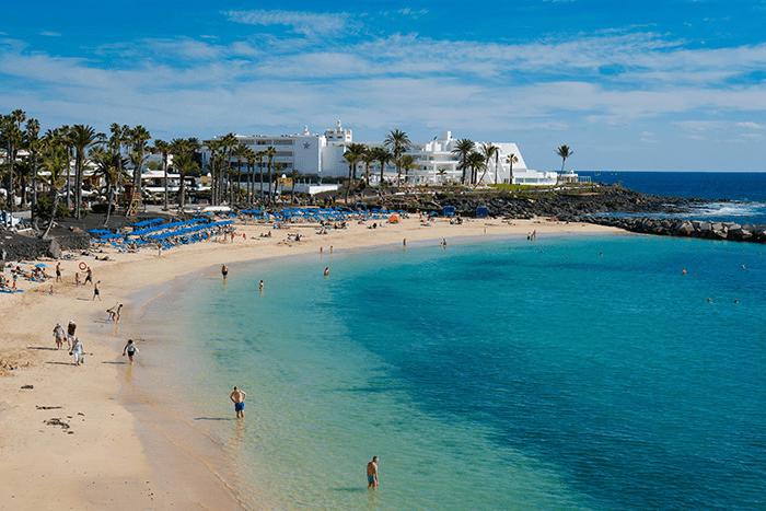 playas importantes lanzartote