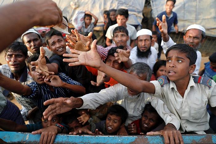 conflictos myanmar refugiados