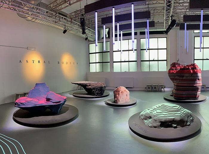 instalacion finsa astral bodies diseño