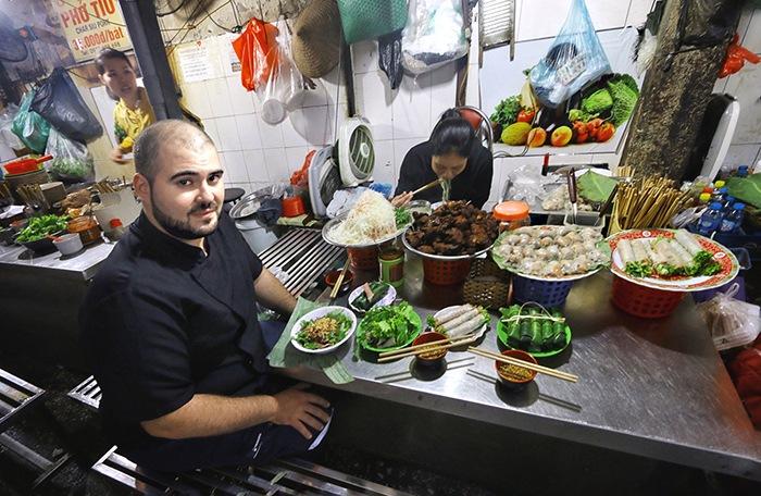 mercado callejero street food vietnam