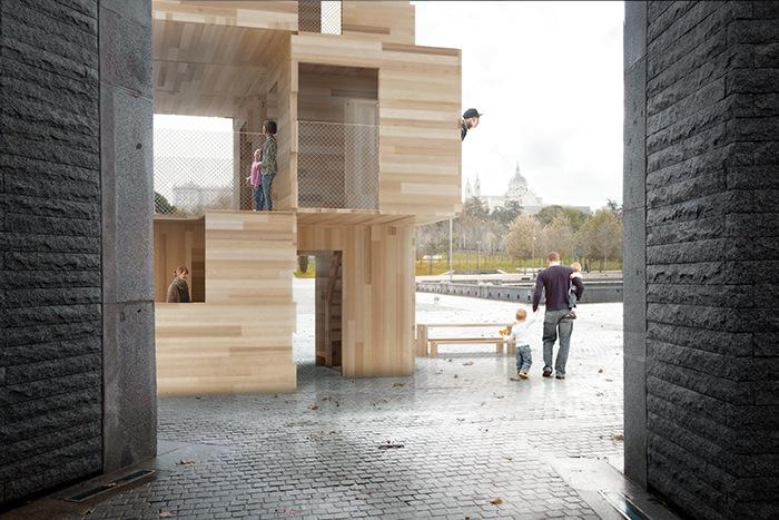 estructuras madera prebafricadas