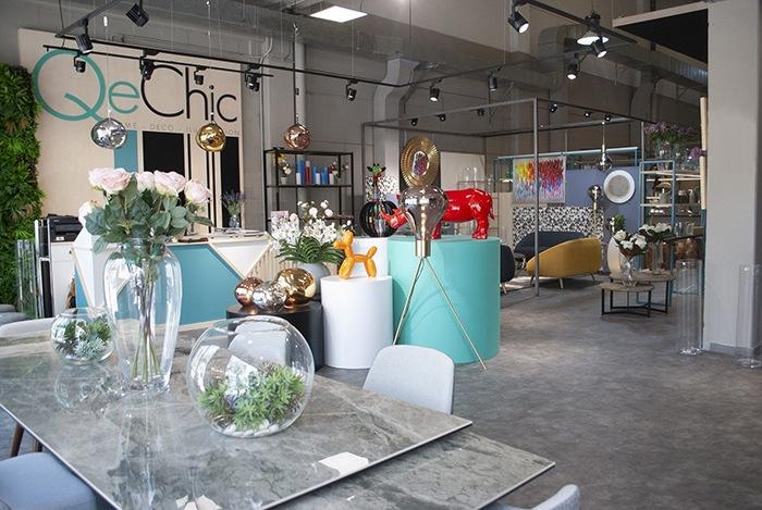 QeChic abre su primera tienda de decoración en Las Rozas