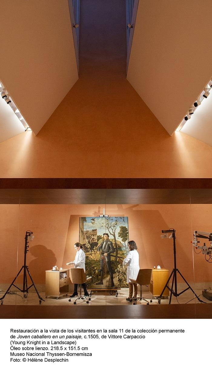 restauradoras pintura museo