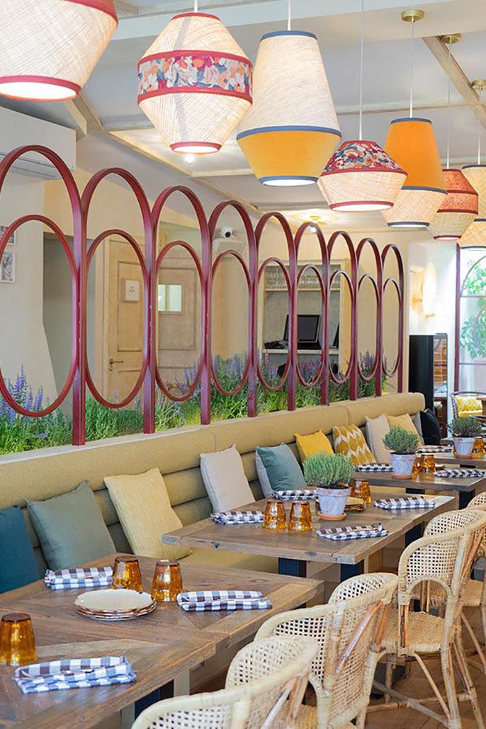 restaurantes italianos diseño