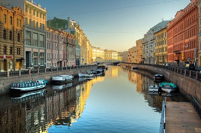canales san petersburgo rusia
