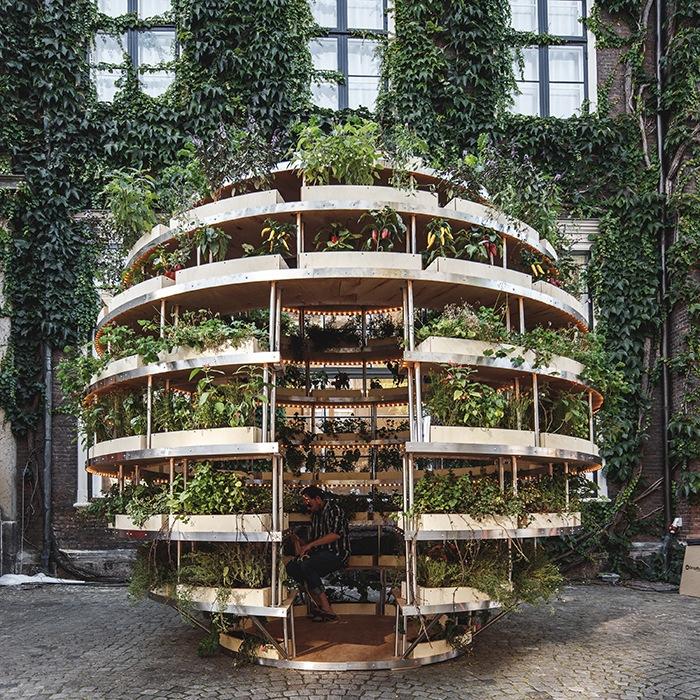 habitacion huerto esferico