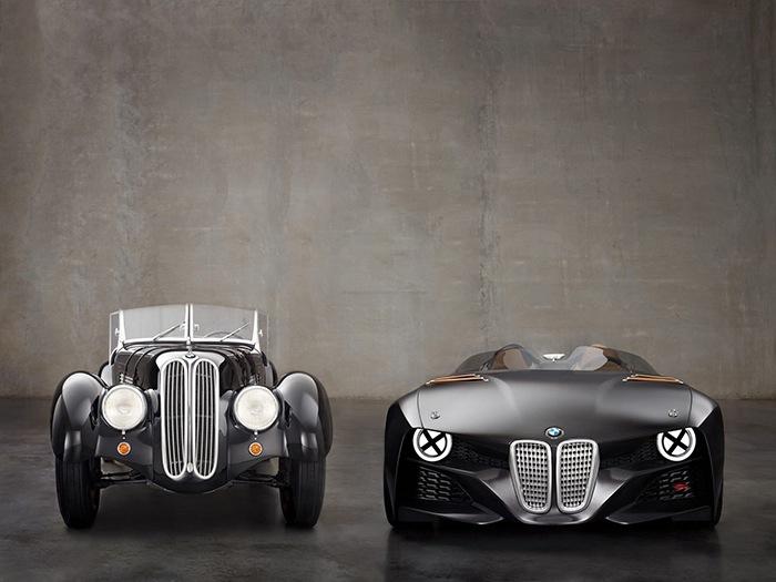 coche clasico BMW vs version moderna