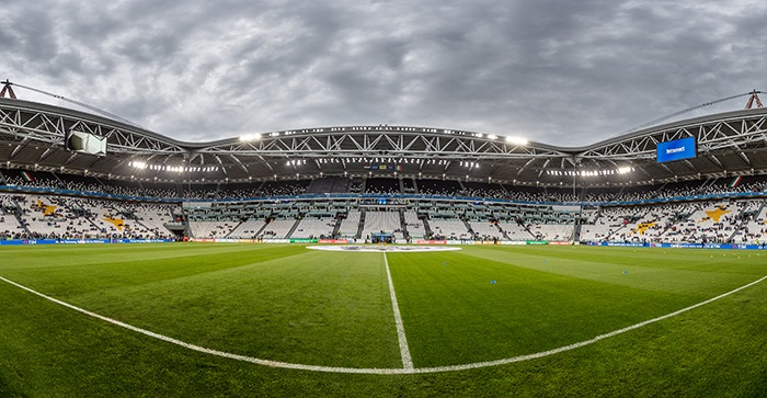 campo de futbol juve panoramica