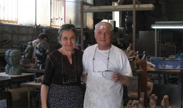 Mujere la artista María Moreno, compañera y amor de Antonio López