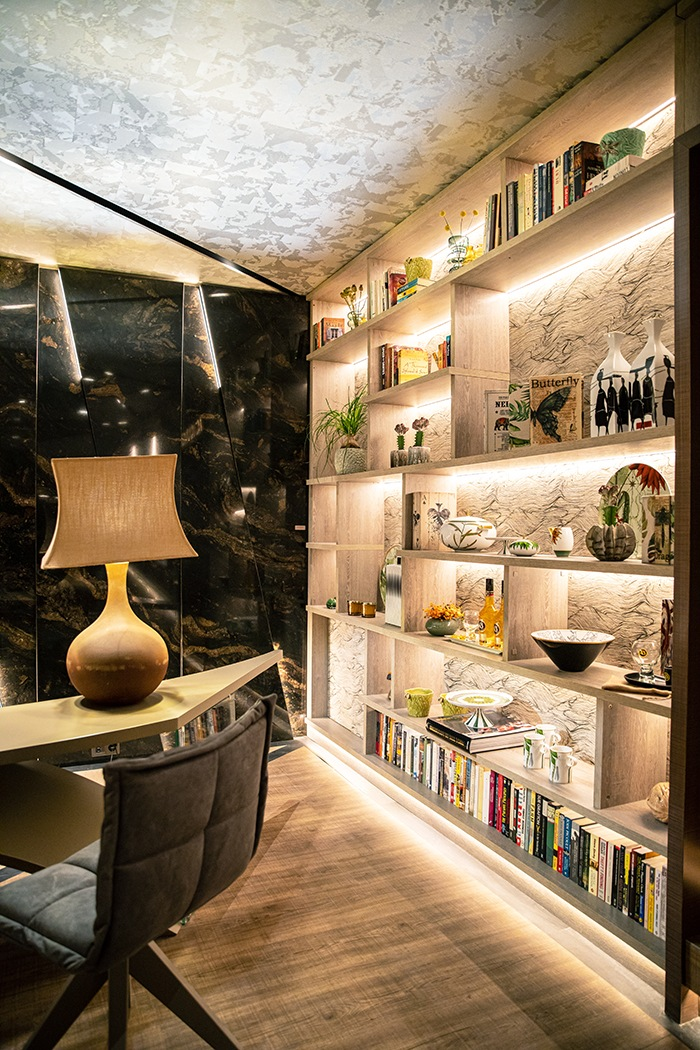 estanteria con ceramica vista alegre casa decor 2020