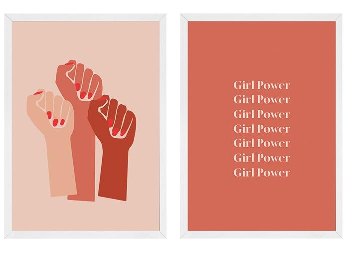 poster cuadro feminista