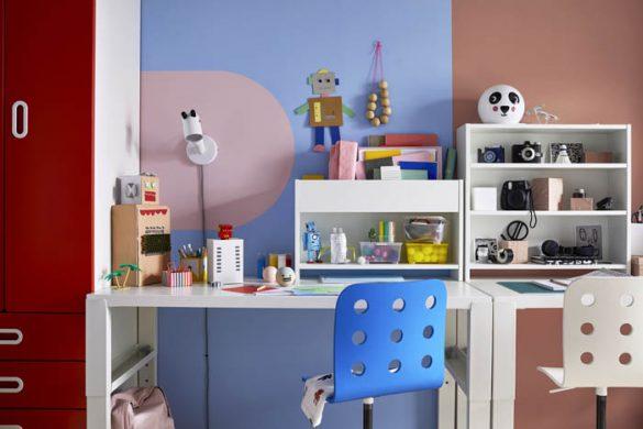 escritorio estudio niños