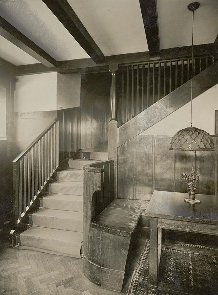 escaleras casa steiner viena